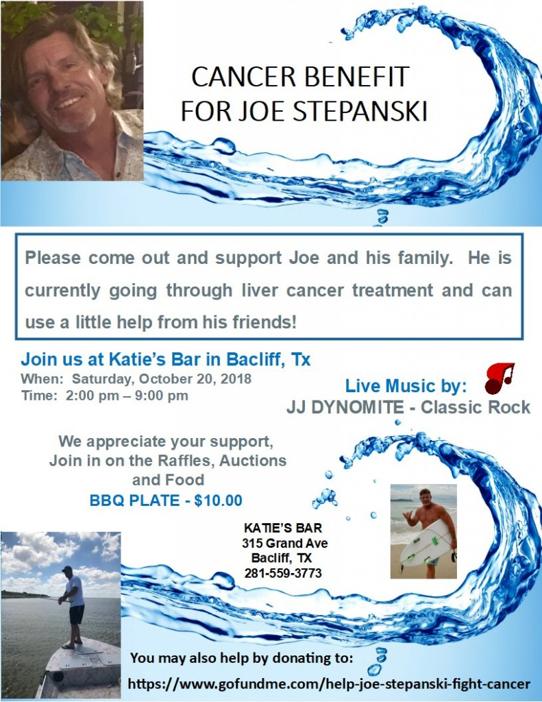 BENEFIT FOR JOE STEPANSKI